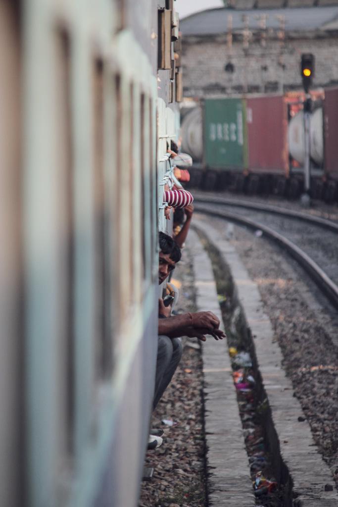 Train de Jaipur à Jaisalamer