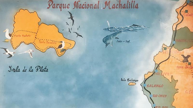 Equateur Coeur de voyageurs Parque Nacional Machalilla carte