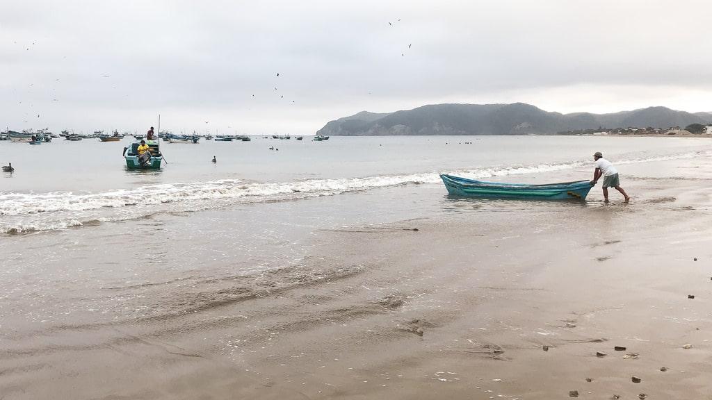 Equateur Coeur de voyageurs Puerto lopez marché
