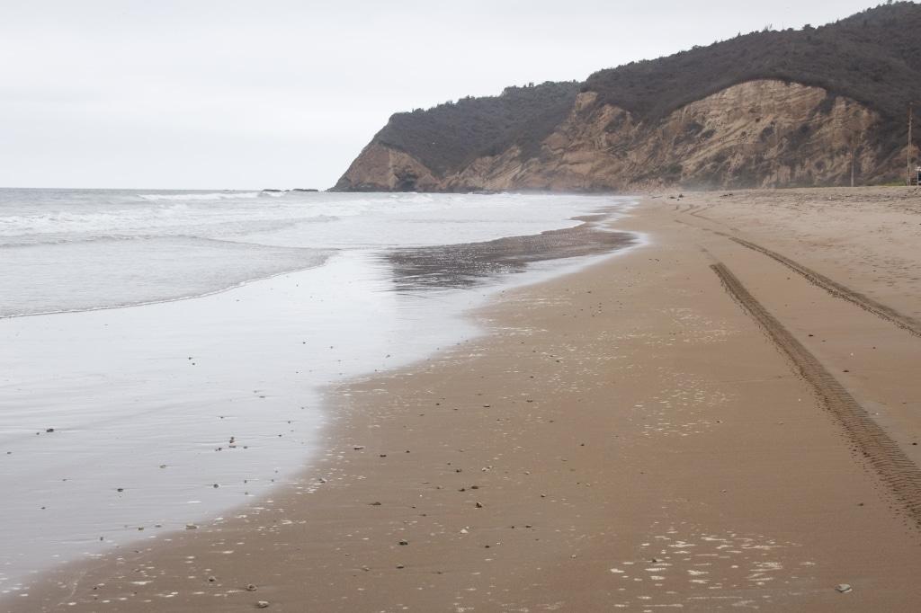 Equateur Puerto Lopez plage