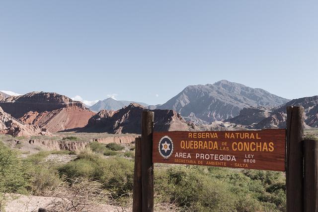Quebrada de las Conchas Argentine Coeur de voyageurs 1